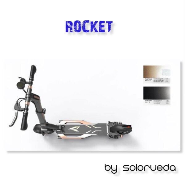 patinete electrico rocket 2