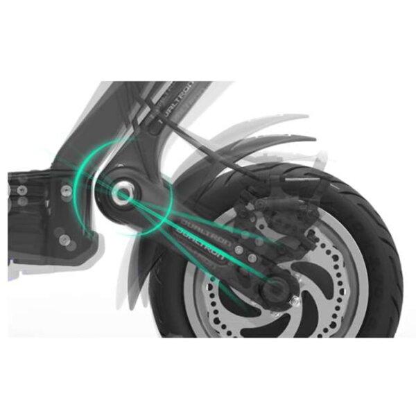 dualtron 3 suspension trasera solorueda