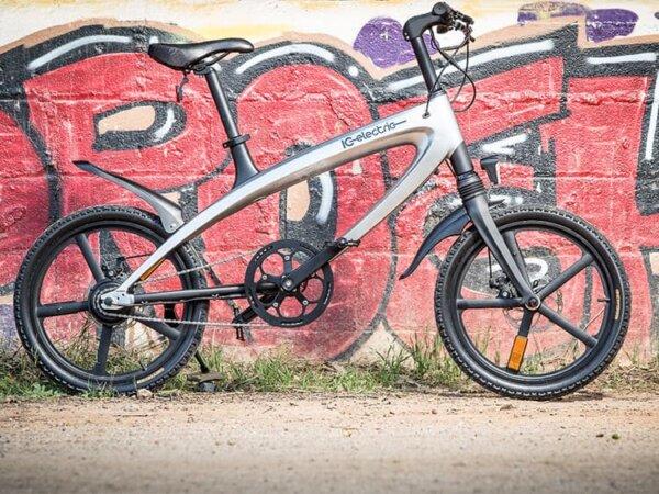 Bicicleta eléctrica ICe alfa lateral- Solorueda