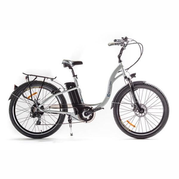 Bicicleta eléctrica ICe essens blanca lateral- Solorueda